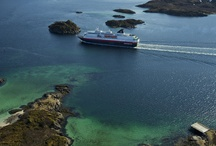 Hurtigruten Ships / by Hurtigruten