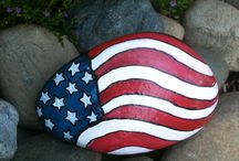 painted rocks / by Barbette Justice