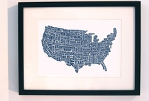 I Like Maps, and Michigan / by Danielle Coller
