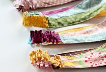 cloth headbands for the amazing little patients fighting cancer! / by Jayme Jablonski Mckeand