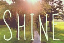 Shine ~ My Word for 2014 / My word for 2014. / by Alex Dk
