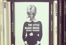 The Little Black Dress / The little black dress is an alliance of opposites. Symbolizing the respectable woman with an eye to seduction, it makes her feel safe and, at the same time, much more dangerous. Every Woman should have her Little Black Dress! / by ASSOULINE