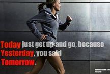 Fitness - get it girl / by Meghan Lopez