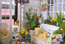 Dollhouse-Outdoors and Porch / by Barbara Bashaw