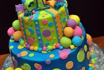 Balls, Balloons, & Bubbles 4th Birthday / Cayden's 4th birthday ideas / by Kelly Port