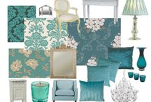 Tefi's Turquoise & Teal Party / by Stefane Richards