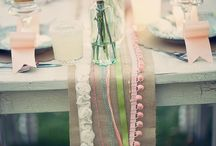 table settings / by Camille Pare