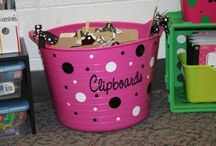 classroom setup/ organization ideas / by Heather Echols
