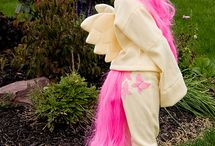 Fluttershy costume / by Tricia Mainzinger