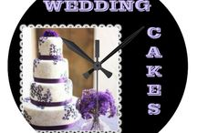 ♥♥ WEDDING CAKES etc. / I decided to make one board with wedding cakes since so many of the cakes could be made the same, but with different colors.  / by Dandy Mariella