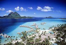 Bora Bora Pearl Beach Resort and Spa / Beautiful photos of the Bora Bora Pearl Beach Resort & Spa / by Bora Bora