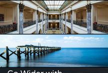Panoramic Photography / In Go Wider with Panoramic Photography, author and photographer Scott Wyden Kivowitz shares his insights and offers techniques for creating segmented panoramic photography, which involves manually capturing a single row of photographs and combining them into a panorama.  Pick up a copy at https://scottwyden.com/ebooks/ / by Scott Wyden Kivowitz