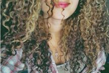 Naturally curly hair / by Myra McRoy Constable