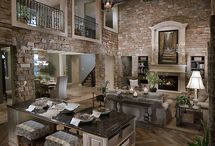beautiful homes / Homes and home decor Decorating ideas / by Sharon Sallis