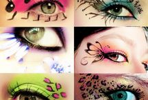 FACE PAINTING:) / by Betty Clark