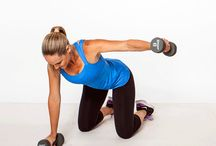 Arms and Back / Exercises for toning n conditioning  these areas  / by Denna Clark