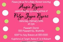 Baby shower / by Sage Sizemore