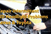 Lexus DIY Maintennce & Repair Videos / by Lex Voitek
