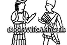 God's Wife Asherah / Did God have a wife? Was Asherah the wife of God?  Archaeological evidence reveals ancient Israel worshipped goddesses, and, Asherah was Yahweh's primary wife - before she was eliminated. / by God's Wife Asherah - History's Vanquished Goddess (Book)