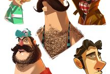 Characters / by Pommes