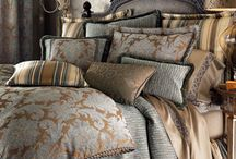 Old World Bedding, Pillows, and Throws / by Hiba Hamed