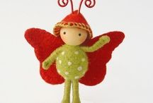 Crafty - Felt / Working with and making felt items / by Janneke Maat
