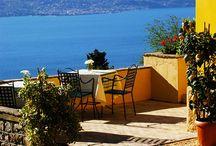 Terrazza / Terrazza vista lago di Garda / by Boutique Hotel Villa Sostaga