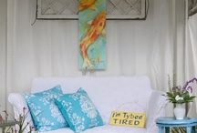 Decor I adore:  Beach style / by Andrea Cammarata