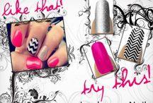 Jam nails!!!  / by Vicky Molina