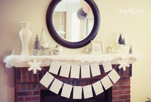 Mantle Decorations / by Judy Cash