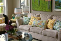 A Cozy Living Room / Ideas for our living room, present and future.  / by Toni Gregory