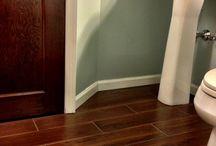 Kitchen floor / by Laura Lorson