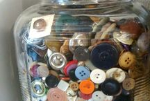 Sewing / Studios & Storage / Studio eye candy and ways to keep it all organized. / by Becky Jorgensen