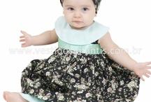 vestidinhos para bebê / by Janete Alves de Araujo