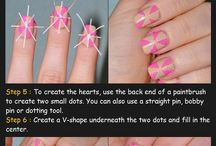 Nails tutorials / by Hair tutorials