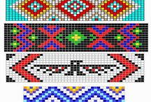 Indian Bead Patterns / by Leslie Wheaton