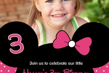 Minnie Mouse Birthday / by Crystal Dunn from My Ramblings
