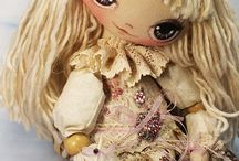 Handmade Dolls / I wish i could make these little pretties / by Karan Gerber