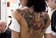 tattoos / by Gudrun Whitehead