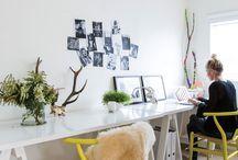 Office Decor / Cool office ideas / by Sara Fraga (ME & TATA)