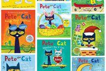 school - pete the cat / by Geri Archer
