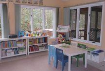 Homeschool Room / by Lindsey O'Keefe