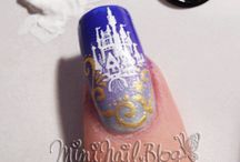 Disney Nail Art / by Amanda White - Pixie and Pirate Destinations, LLC