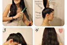 Cutting Hair DIY / by Nadine Carpenter