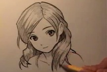 ~ Drawing Anime ~ / Hi! I'm Jessica from Oceanside Daydreams - Where the love of the ocean, decorating & crafts come together. Check out my site: http://oceansidedaydreams.com  / by Jessica Anderson