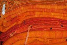 color: orange / by Melissa Tibbals-Gribbin