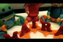 Team Umizoomi Cake / by Grace Lynch