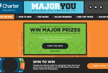Major You / Win stuff just for being you! Visit http://bit.ly/CharterMajorYou to enter for your chance to win major prizes like $10,000 and the Amazon Kindle Fire HD! / by Charter
