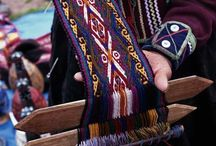 Weaving - Band Weaving / Narrow band weaving / by Habetrot