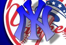 New York Yankees aka Bronx Bombers / by Georgia Cuevas
